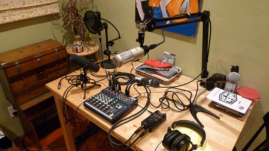 THIS IS NOT A TEST Podcast - Leaving the terminal - many microphones