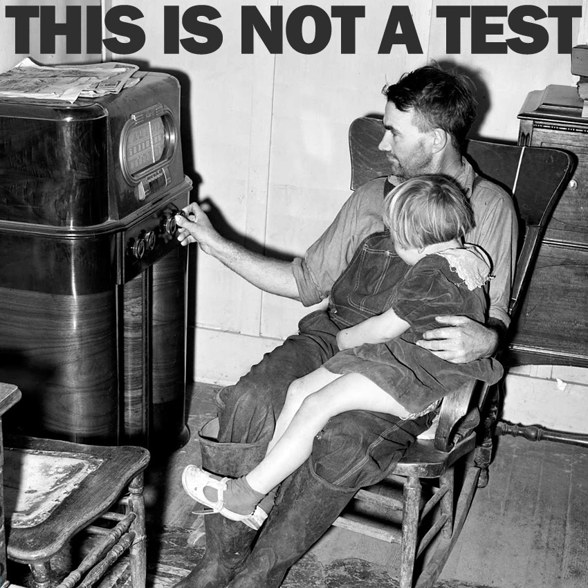 THIS IS NOT A TEST Podcast - Who sneezed in my arpeggio?