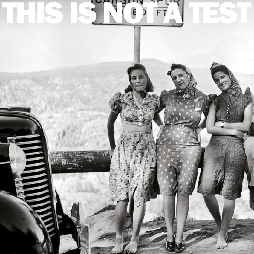 THIS IS NOT A TEST Podcast - I wish I knew how to be happy about a three day weekend