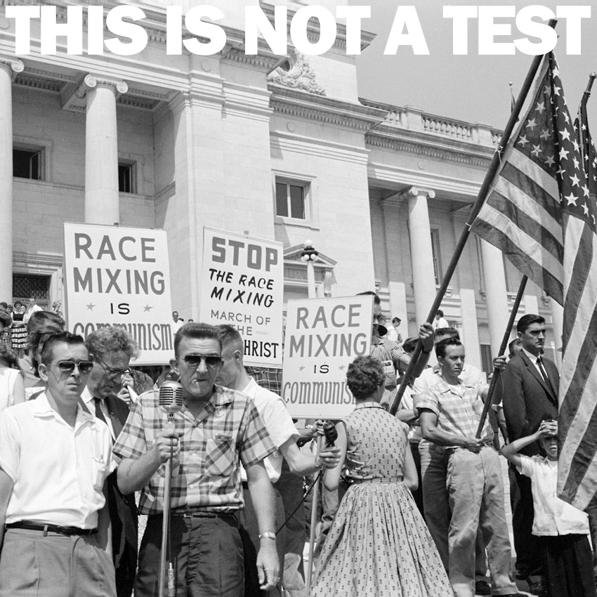 THIS IS NOT A TEST Podcast - It's a black and white thing