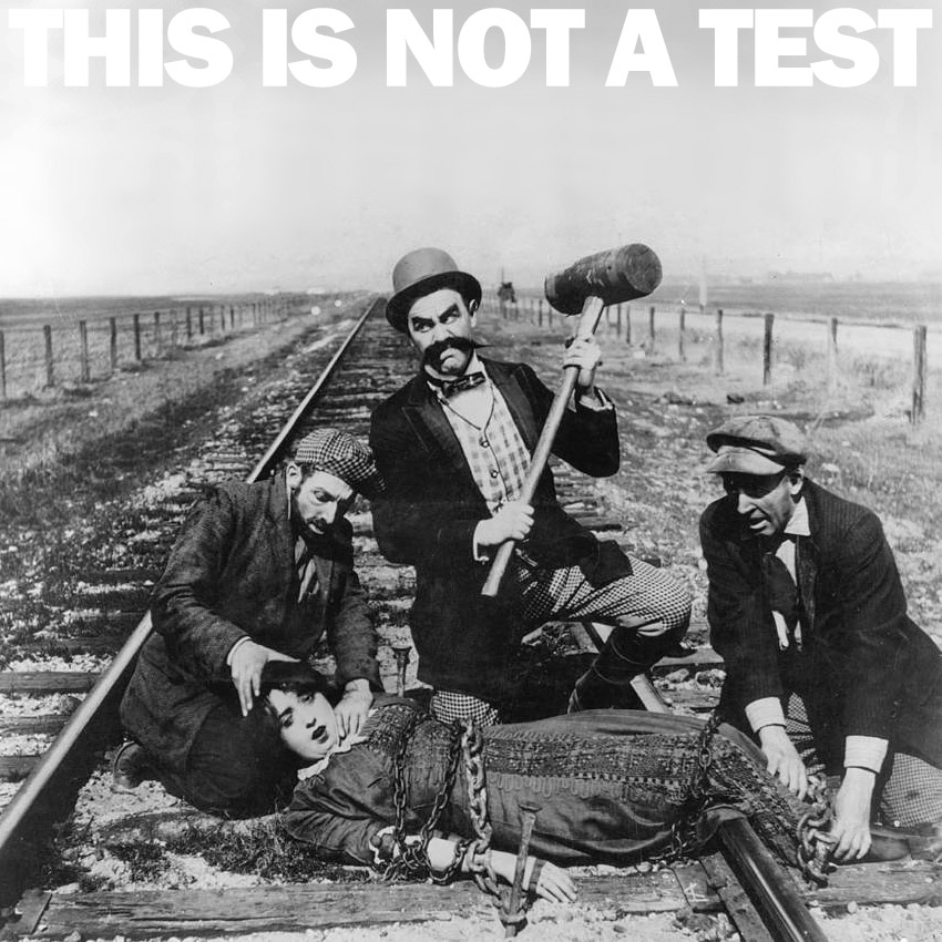 THIS IS NOT A TEST Podcast - The death of the truth