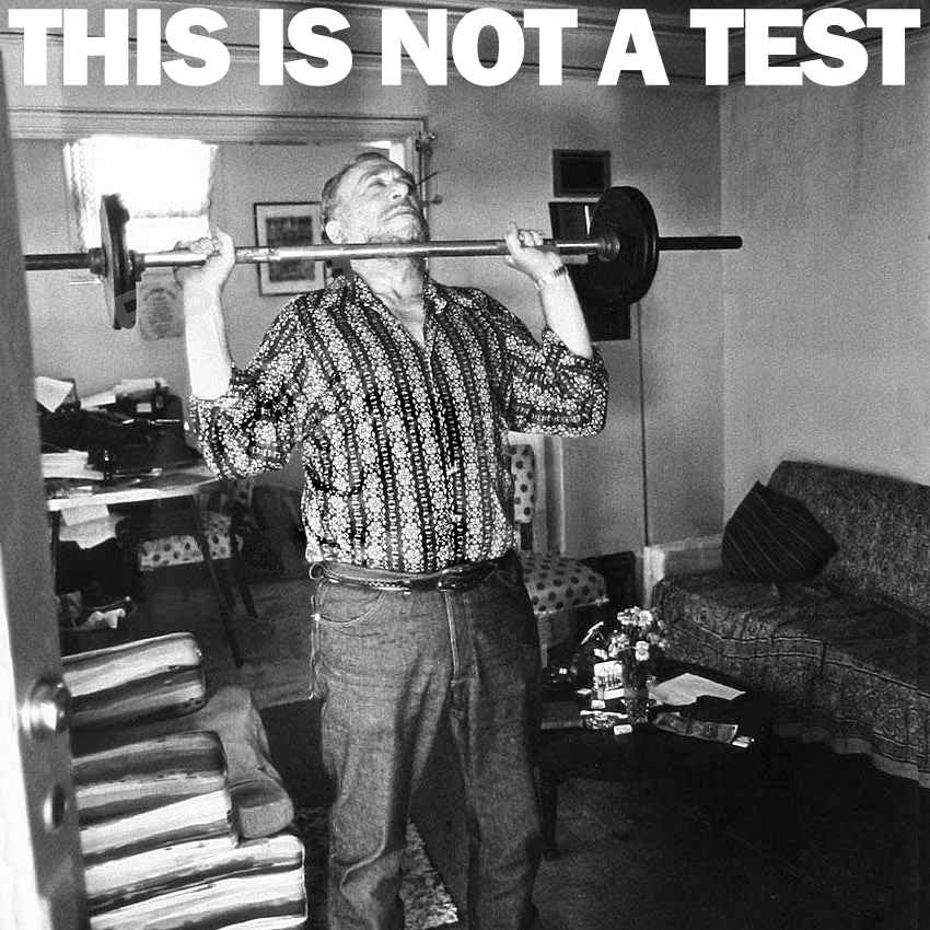 THIS IS NOT A TEST Podcast - Essential Bukowski - and a few non-essentials just for the hell of it