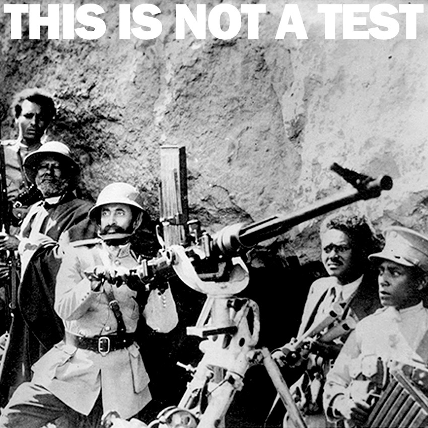 THIS IS NOT A TEST Podcast - Everywhere is war