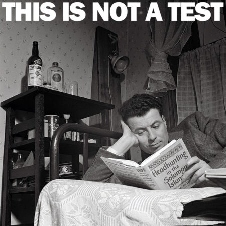 THIS IS NOT A TEST Podcast - A Trip to Bukowski's House