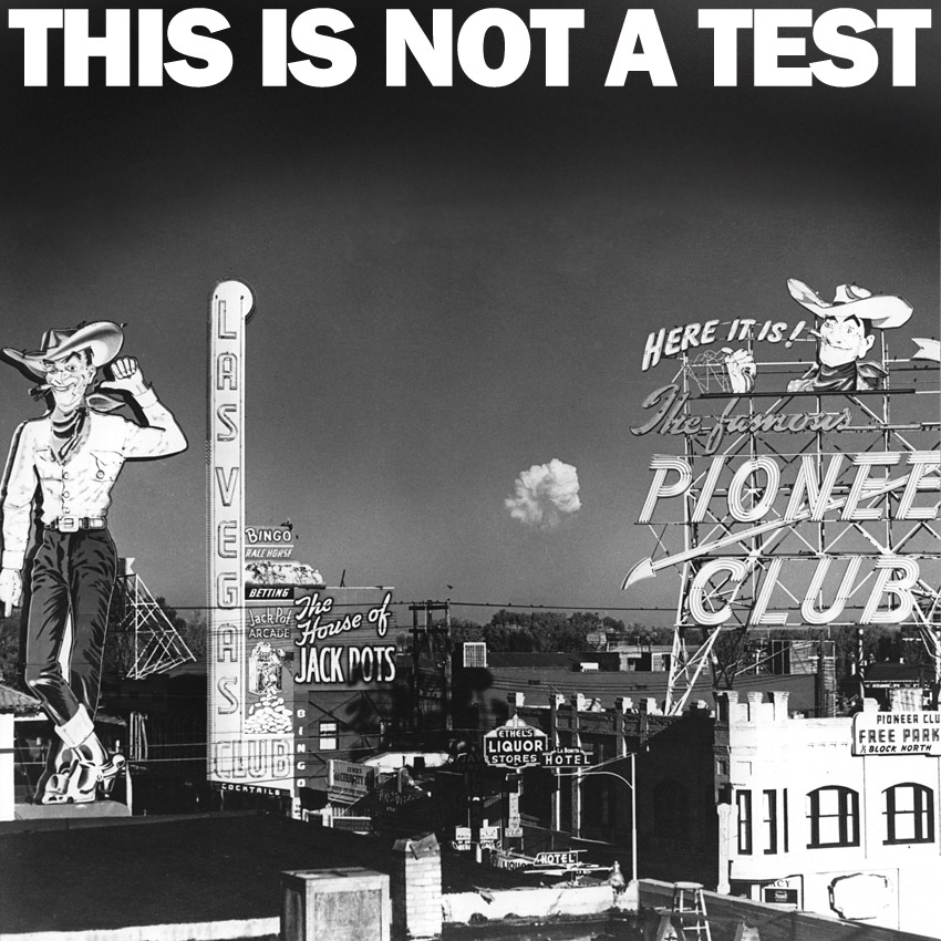 THIS IS NOT A TEST Podcast - What could possibly go wrong?