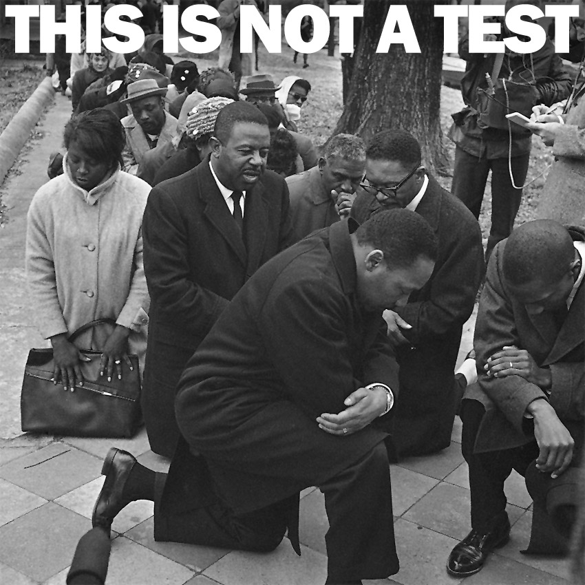 THIS IS NOT A TEST Podcast - Love is at the root of our resistance